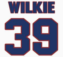 National baseball player Lefty Wilkie jersey 39 by imsport