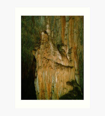 Grutas De La Estrella - Cave Formation 7 Art Print