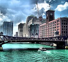 Chicago River by K2D2vaca