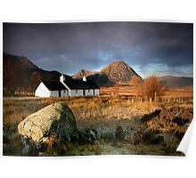 Blackrock Cottage : Glencoe, Highlands Poster
