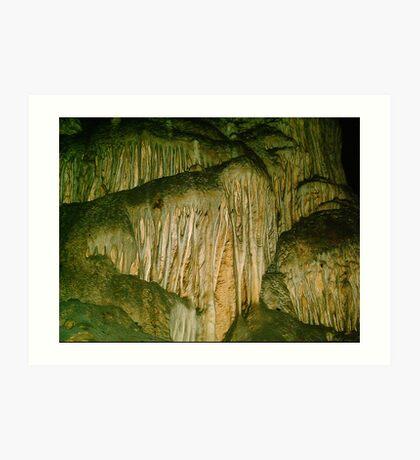Grutas De La Estrella - Cave Formation 13 Art Print