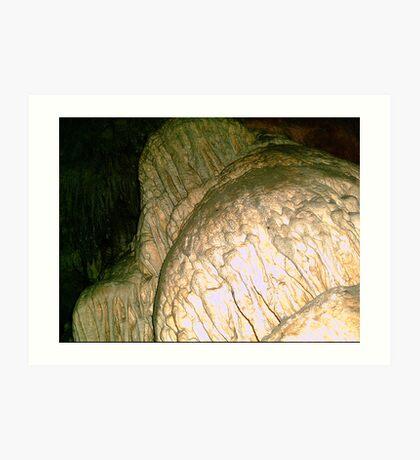Grutas De La Estrella - Cave Formation 15 Art Print