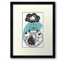 Space Squirrel Framed Print