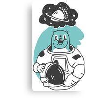 Space Squirrel Canvas Print