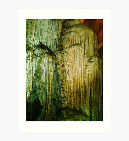 Grutas De La Estrella - Cave Formation 16 Art Print