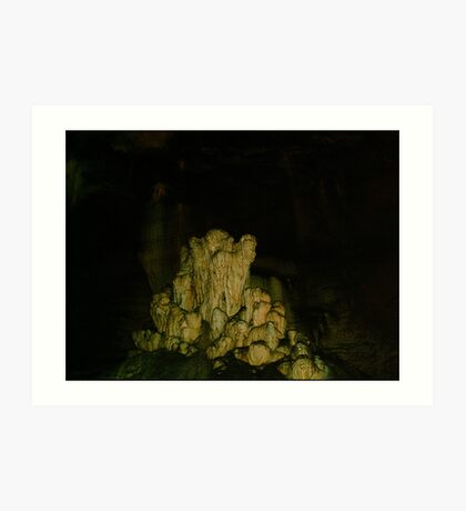 Grutas De La Estrella - Cave Formation 17 Art Print
