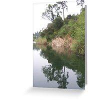 Symmetry at the Lake Greeting Card