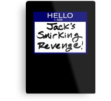 "Fight Club- ""I AM JACK'S SMIRKING REVENGE"" Metal Print"