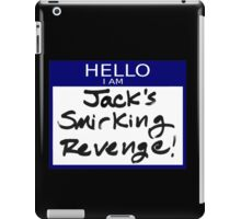 "Fight Club- ""I AM JACK'S SMIRKING REVENGE"" iPad Case/Skin"
