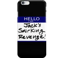 "Fight Club- ""I AM JACK'S SMIRKING REVENGE"" iPhone Case/Skin"