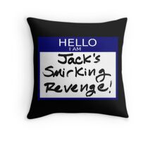 "Fight Club- ""I AM JACK'S SMIRKING REVENGE"" Throw Pillow"