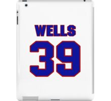 National baseball player Casper Wells jersey 39 iPad Case/Skin