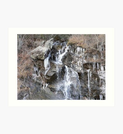 Ice Cold Spring Water Art Print