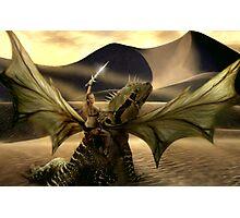 My Dragon Lady Photographic Print