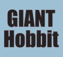 Giant Hobbit: The Battle of the Five Armies - T-Shirt Sticker by deanworld