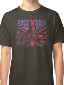 Rock n Roll Union Jack Classic T-Shirt