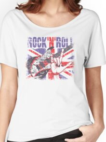 Rock n Roll Union Jack Women's Relaxed Fit T-Shirt