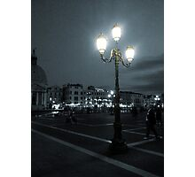 Lantern in Venice Photographic Print