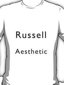 Russell Aesthetic T-Shirt