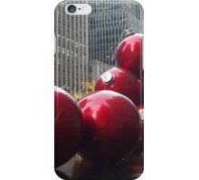 Holiday Decorations, Rockefeller Center, New York City iPhone Case/Skin