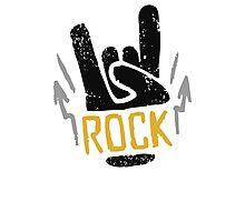 Rock Horns Photographic Print
