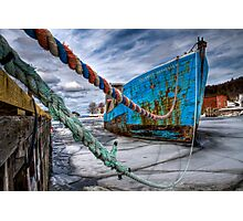Ice Breaker Photographic Print