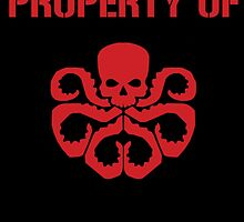 Property of HYDRA by withbuckybarnes