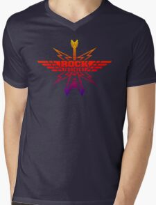 Rock Forever Guitar Mens V-Neck T-Shirt