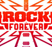 Rock Forever Guitar Sticker