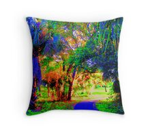 Phosphorescence Throw Pillow