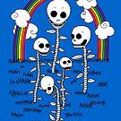 Skull Garden by Danielle Kerese