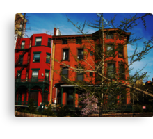brooklyn is burning Canvas Print