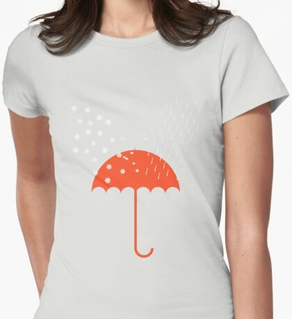 Wild Weather Womens Fitted T-Shirt