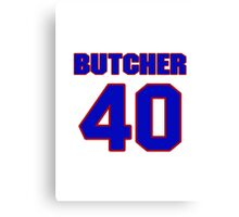 National baseball player Max Butcher jersey 40 Canvas Print