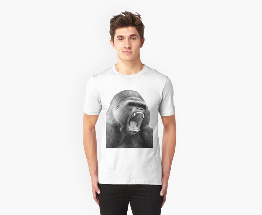 gorilla by Jayson Gaskell