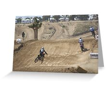 #117 Nick Paluzzi Loves Competitive Edge MX Whoops-Loretta Lynn Area SW Area Qualifier Hesperia, CA, (1,543 Views as of 5-12-11) Greeting Card