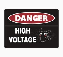 Danger High Voltage Kids Clothes