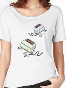 Toaster Rabbits Women's Relaxed Fit T-Shirt