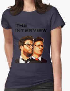 The Interview Womens Fitted T-Shirt