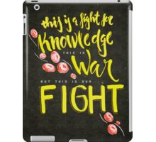 This is War iPad Case/Skin