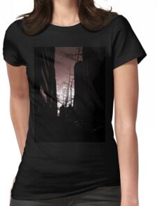 Red Sidewalk NYC Womens Fitted T-Shirt
