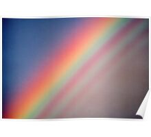 Rainbow with supernumerary bows. Poster
