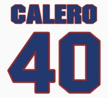 National baseball player Kiko Calero jersey 40 by imsport