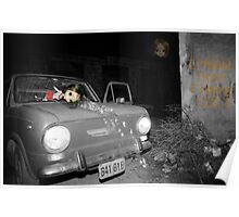 Car accident nightmare Poster