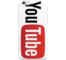 YouTube Logo  iPhone Case/Skin