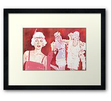 CHARLESTON Framed Print
