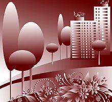 monochrome urban by VioDeSign