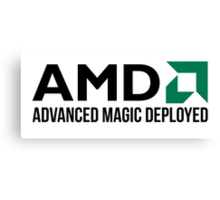 AMD Advanced Magic Deployed Canvas Print