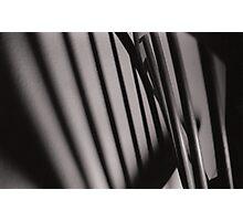 Chair Shadow Photographic Print