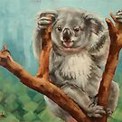 Australian Koala by Margaret Stockdale